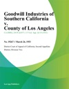 Goodwill Industries Of Southern California V County Of Los Angeles