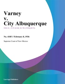 VARNEY V. CITY ALBUQUERQUE