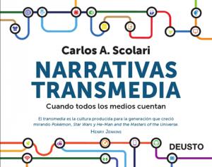 Narrativas transmedia Copertina del libro