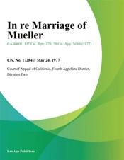Download In Re Marriage of Mueller