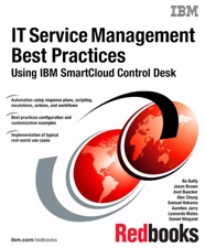 IT Service Management Best Practices Using IBM SmartCloud Control Desk Is  Available For Download From IBooks.