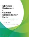 Schweber Electronics V National Semiconductor Corp