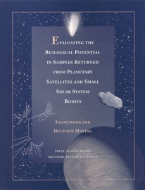 Evaluating The Biological Potential In Samples Returned From Planetary Satellites And Small Solar System Bodies