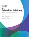Kelly V Primeline Advisory