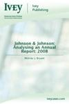 Johnson  Johnson Analysing An Annual Report 2008
