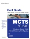 MCTS 70-640 Cert Guide Windows Server 2008 Active Directory Configuring