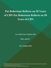Download Pat Robertson Reflects on 50 Years of CBN Pat Robertson Reflects on 50 Years of CBN
