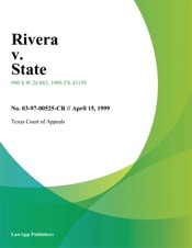Download and Read Online Rivera v. State