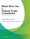 Bunte Bros Inc V Federal Trade Commission