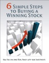 6 Simple Steps To Buying A Winning Stock
