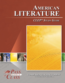 American Literature CLEP Test Study Guide book