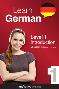 Learn German -  Level 1: Introduction to German (Enhanced Version) Book Cover
