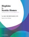Hopkins V Scottie Homes