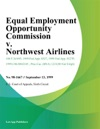 Equal Employment Opportunity Commission V Northwest Airlines