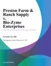 Preston Farm  Ranch Supply V Bio-Zyme Enterprises