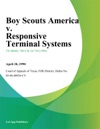 Boy Scouts America V Responsive Terminal Systems