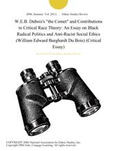 W.E.B. Dubois's
