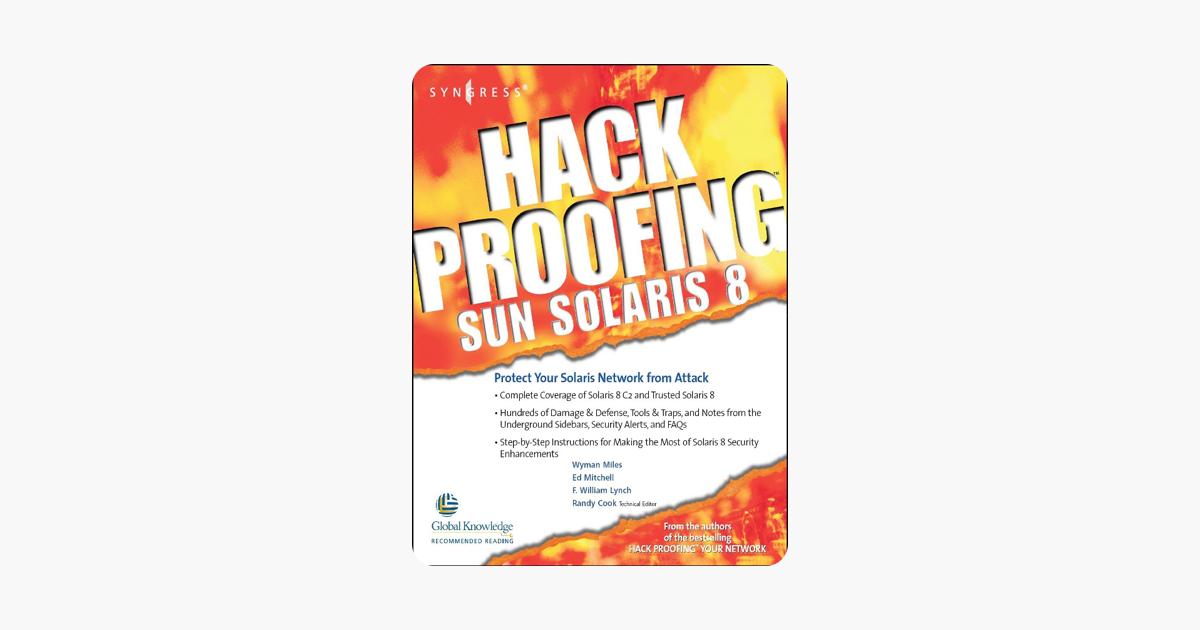 Hack Proofing Sun Solaris 8