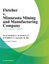 Fletcher V Minnesota Mining And Manufacturing Company