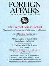 Foreign Affairs - September/October 2000
