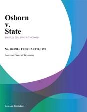 Download Osborn v. State