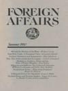 Foreign Affairs - Summer 1980