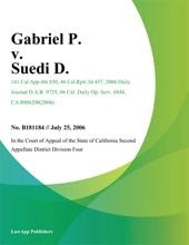 Gabriel P. V. Suedi D.