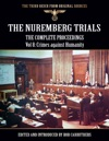 The Nuremberg Trials - The Complete Proceedings Vol 8 Crimes Against Humanity
