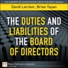 Duties And Liabilities Of The Board Of Directors The