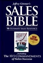 Jeffrey Gitomer's Sales Bible: The Ultimate Sales Resource