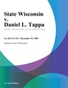 State Wisconsin V Daniel L Tappa