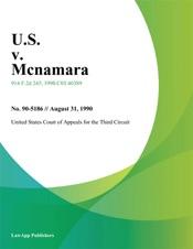 Download and Read Online U.S. v. Mcnamara