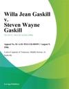 080996 Willa Jean Gaskill V Steven Wayne Gaskill