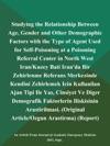 Studying The Relationship Between Age Gender And Other Demographic Factors With The Type Of Agent Used For Self-Poisoning At A Poisoning Referral Center In North West IranKuzey Bati Iranda Bir Zehirlenme Referans Merkezinde Kendini Zehirlemek Icin Kullanilan Ajan Tipi Ile Yas Cinsiyet Ve Diger Demografik Faktorlerin Iliskisinin Arastirilmasi Original ArticleOzgun Arastirma Report