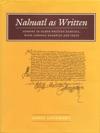 Nahuatl As Written