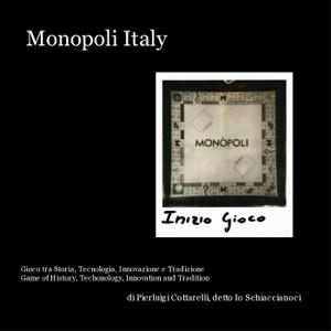 Monopoli Italy Copertina del libro