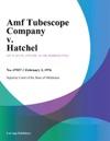 Amf Tubescope Company V Hatchel
