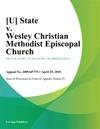 State V Wesley Christian Methodist Episcopal Church