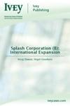 Splash Corporation B International Expansion