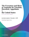 The Executors And Heirs Of Augustin De Yturbide Deceased Appellants V The United States