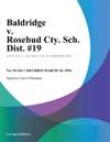 Baldridge V Rosebud Cty Sch Dist 19
