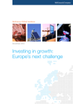 Investing In Growth: Europe's Next Challenge
