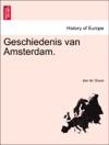 Geschiedenis Van Amsterdam VIJFRDE DEEL