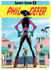 Lucky Luke - Tome 8 - PHIL DEFER La couverture du livre martien