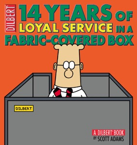 14 Years of Loyal Service in a Fabric-Covered Box da Scott Adams
