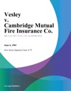 Vesley V Cambridge Mutual Fire Insurance Co