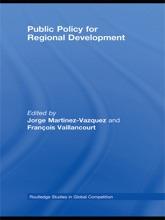 Public Policy For Regional Development