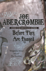 Joe Abercrombie - Before They Are Hanged artwork