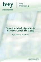 Sunripe Marketplace: A Private Label Strategy