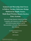Semtech And Microchip Join Forces To Deliver Turnkey Reference Design Platform For Highly Secure Multi-Band Wireless Remote Keyless Entry Systems Reference Design Integrates Semtech Ism-Band Transmitter And Transceivers With Microchip KEELOQ Encryption Software And PIC Microcontrollers To Provide A High-Performance RKE Platform